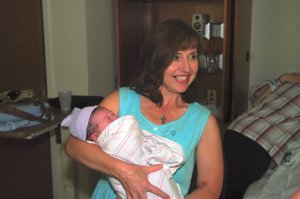 090629 David Lee's birth - Sonja