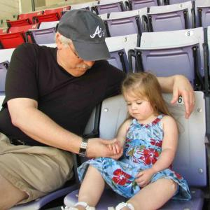 """Spending a precious """"now-moment"""" with granddaughter Ella"""