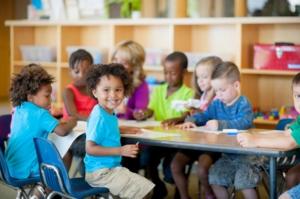 children-at-kindergarten-are-studying