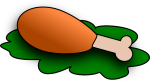 cooked-chicken-clipart-chicken-drumstick