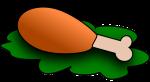 cooked-chicken-clipart-chicken-drumstick