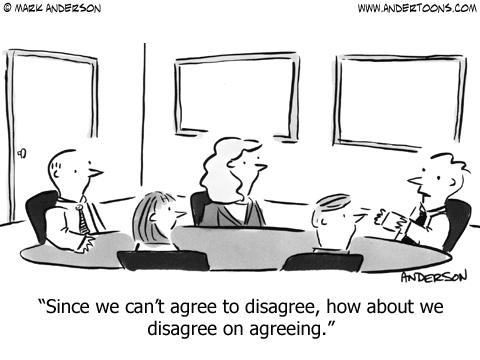 agree-to-disagree