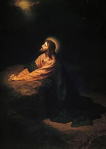 A Gethsemane prayer: